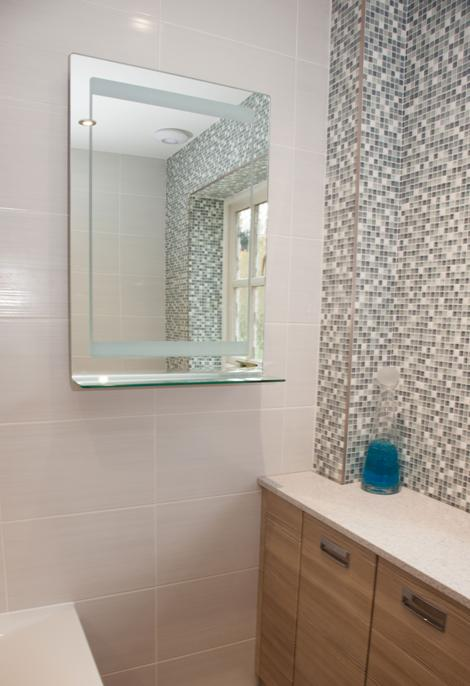 Mosaic Shower Features